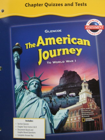 textbook analysis the american journey Gettextbookscom compares new & used textbook prices from hundreds of online bookstores to find the cheapest textbook prices every time.