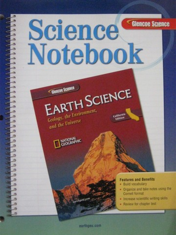 Earth Science Science Notebook (CA)(P)