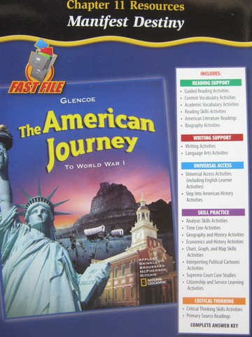 American Journey to World War 1 Chapter 11 Resources (P)
