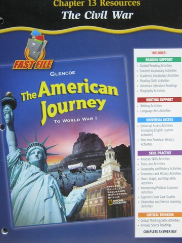 American Journey to World War 1 Chapter 13 Resources (P)