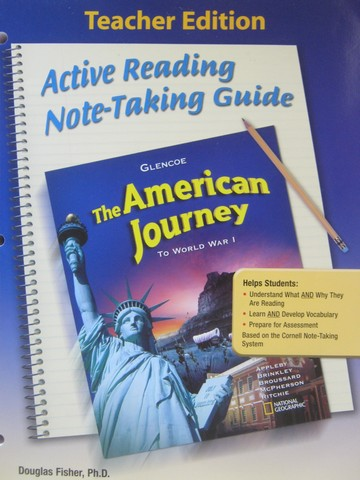 American Journey Active Reading Note-Taking Guide TE (TE)(P)
