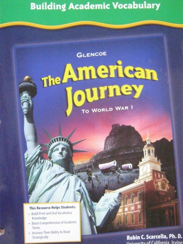 American Journey To World War 1 Building Academic Vocabulary (P)