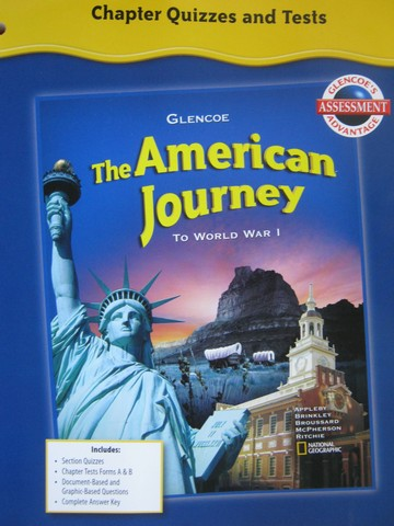 American Journey Chapter Quizzes & Tests (P)