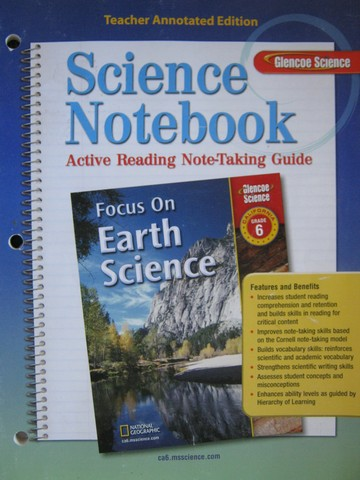 Focus on Earth Science Science Notebook TAE (CA)(TE)(P)