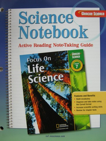 Focus on Life Science Science Notebook (CA)(P)