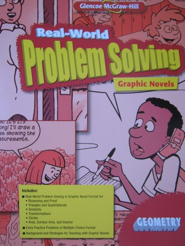 Geometry Common Core Real-World Problem Solving Graphic Novel(P)