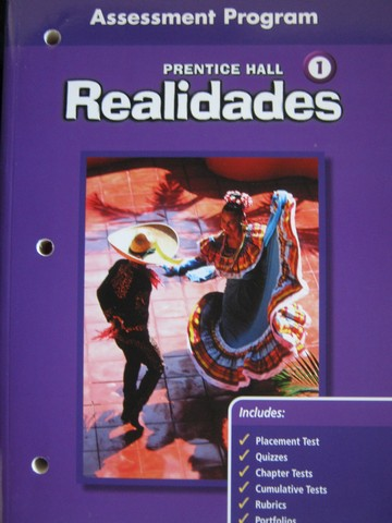 Realidades 1 Assessment Program on Blackline Masters (P)