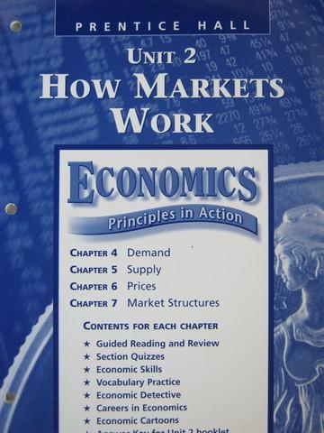 Economics Principles In Action Resource File Unit 2 P