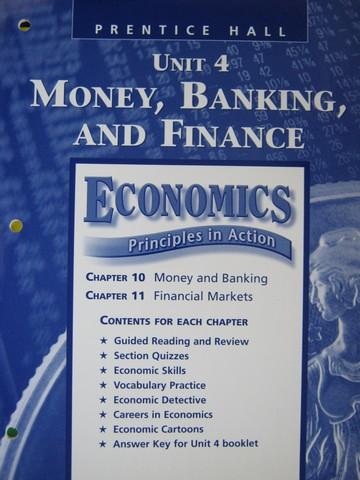 Economics Principles In Action Resource File Unit 4 P