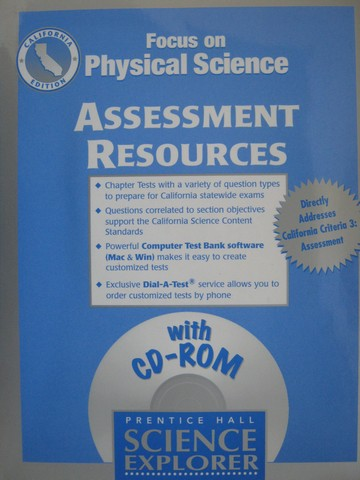 Focus on Physical Science Assessment Resources (CA)(P)