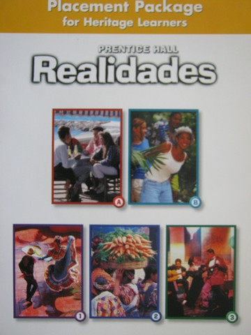 Realidades Placement Package for Heritage Learners (P)