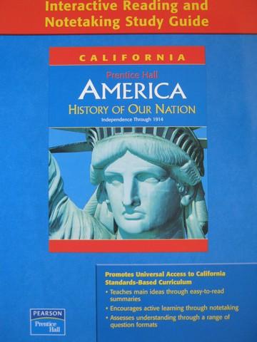 america interactive reading notetaking study guide ca p rh textbooknbeyond com Prentice Hall World History U.S. History Textbook Prentice Hall
