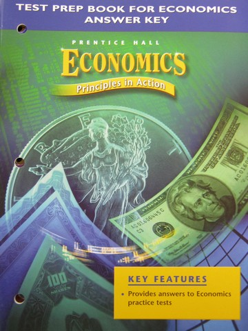Economics Principles in Action Test Prep Book Answer Key (P)
