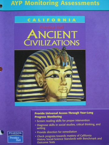 Ancient Civilizations AYP Monitoring Assessments CA P