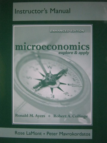 Microeconomics Explore & Apply Enhanced Edition IM (TE)(P)