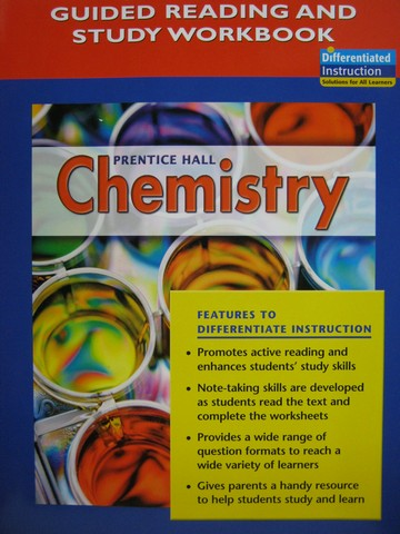 Chemistry Guided Reading Study Workbook P 0131903624