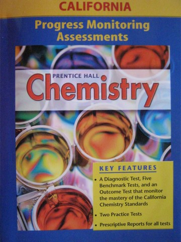 Chemistry Progress Monitoring Assessments (CA)(P)