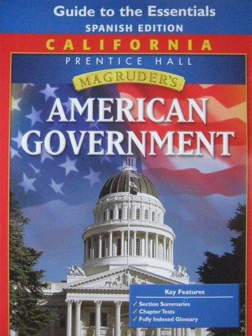 Magruder's American Government Guide to Essentials Spanish (P)
