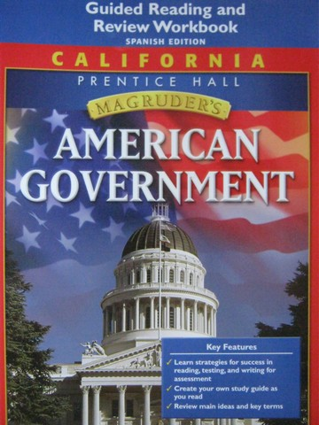 Magruder's American Government Guided Reading Spanish (CA)(P)