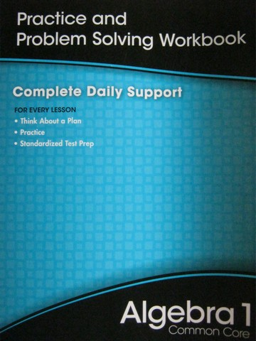 Algebra 1 Common Core Practice & Problem Solving Workbook (P)