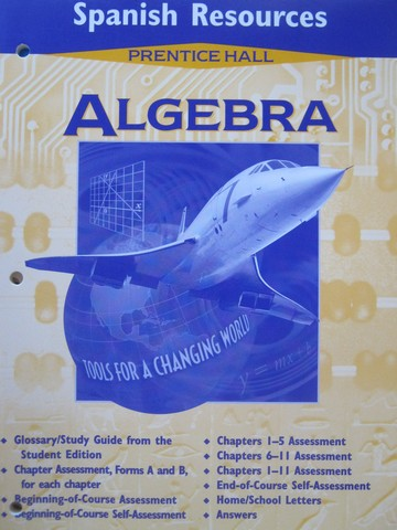Algebra Tools for a Changing World Spanish Resources (P)