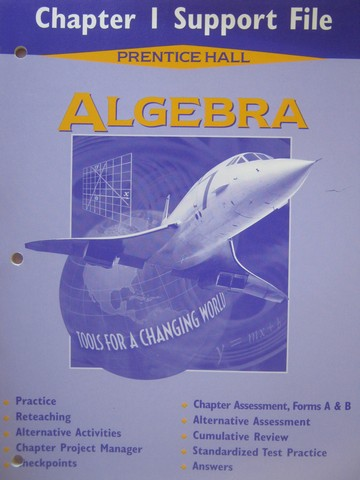 Algebra Tools for a Changing World Chapter 1 Support File (P)