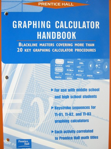 Math Tools for a Changing World Graphing Calculator HB (P)