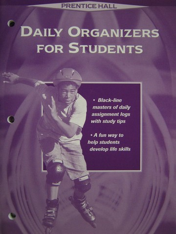 Daily Organizers for Students (P) by Anne C Patterson
