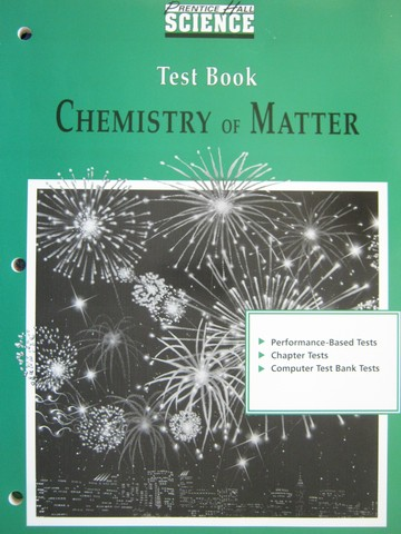 Chemistry of Matter Test Book (P)
