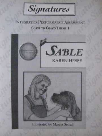 Signatures 5 Sable Integrated Performance Assessment (P)