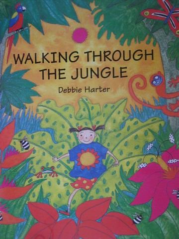 Walking through The Jungle (P)(Big) by Debbie Harter