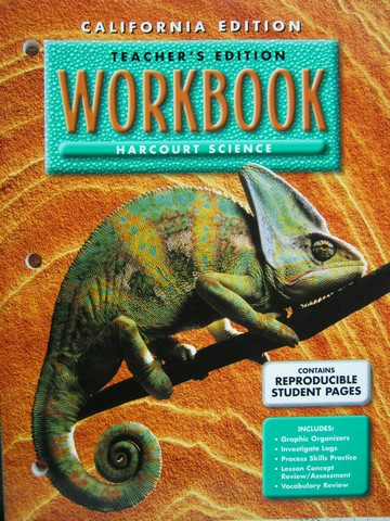 Harcourt Science 4 Workbook TE (CA)(TE)(P)