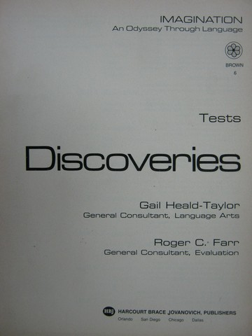 Discoveries Brown 6 Tests (P) by Heald-Taylor & Farr
