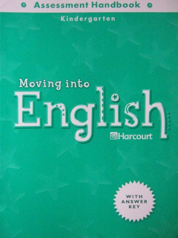 Moving into English K Assessment Handbook (P)