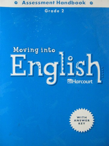 Moving into English 2 Assessment Handbook (P)