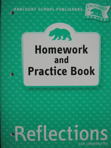 Reflections 3 Homework & Practice Book (CA)(P)