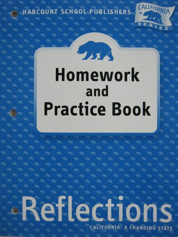 Reflections 4 Homework & Practice Book (CA)(P)