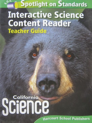 California Science 4 Interactive Science Content Reader (TE)(P)