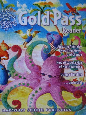 California Excursions 2 Gold Pass Reader (CA)(P)