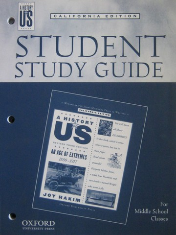 A History of US Revised 3e An Age of Extremes Study (CA)(P)