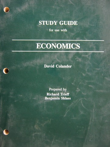 Economics Study Guide (P) by Trieff & Shlaes