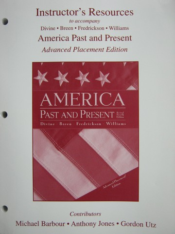 America Past & Present Revised 6e AP Edition IR (TE)(P)