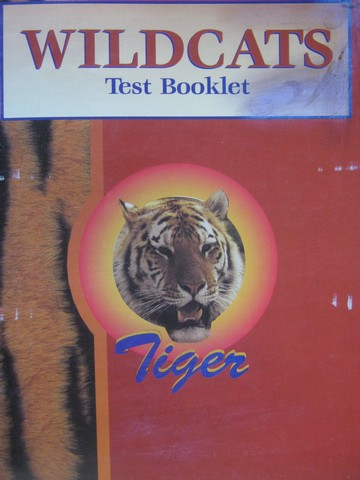 Wildcats Tiger Test Booklet (P)