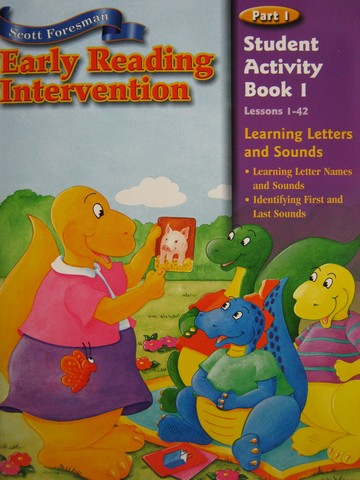 Early Reading Intervention Student Activity Book 1 (P)