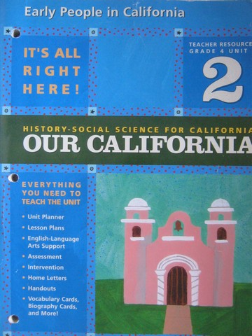 History-Social Science for California 4 Unit 2 TR (CA)(TE)(P)