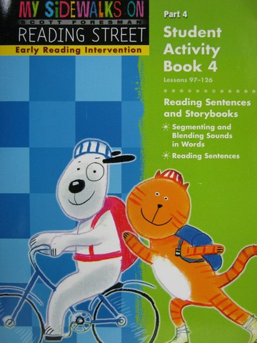 Reading Street K Early Reading Student Activity Book 4 (P)