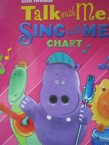 Reading Street K Talk with Me Sing with Me Chart (Spiral)(Big)