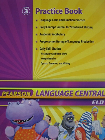 Pearson Language Central 3 Practice Book (P)