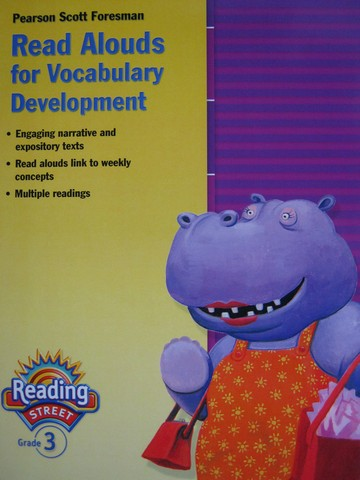 Reading Street 3 Read Alouds for Vocabulary Development (P)