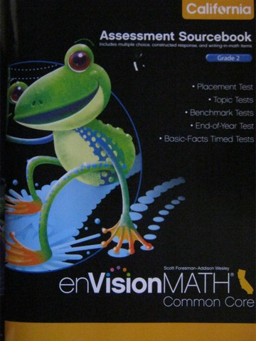 enVision Math California Common Core 2 Assessment Sourcebook (P)